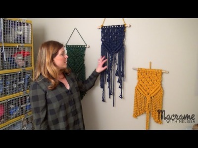 Tutorial: How to Craft a Macrame Wall Hanging for Beginners