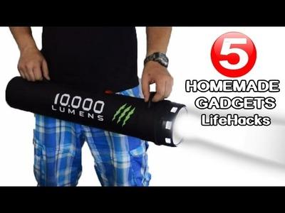 5 Incredible DIY Gadgets you can make at home|LifeHacks