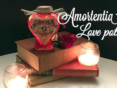 Amortentia Love Potion Bottle: DIY Potion Bottle : Halloween Prop ( Harry Potter Inspired )