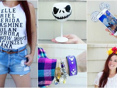 CHEAP & EASY DISNEY DIY CRAFTS #5 | PINTEREST INSPIRED