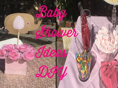 DIY. baby shower ideas