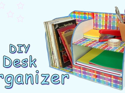 DIY Desk Organizer - Ana   DIY Crafts.