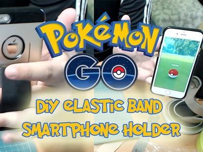 DIY Elastic Band Smartphone Holder -  Pokémon GO DIY