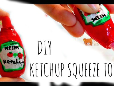DIY Ketchup Squeeze Toy