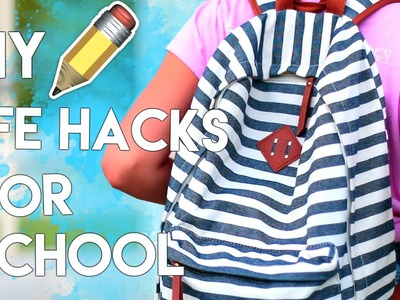 DIY Lifehacks For Getting To School FASTER!