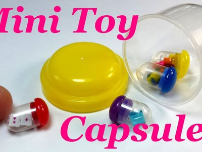 DIY Miniature Doll Toy Capsules & Accessories