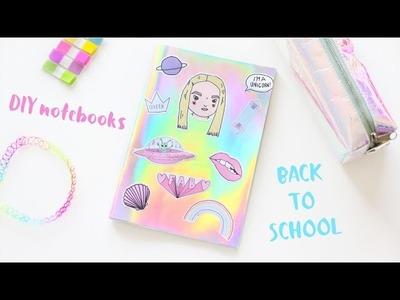 DIY Notebooks. BACK TO SCHOOL - NotSoFunnyAny