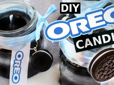DIY Oreo Candles! How to make a delicious SCENTED oreo candle! LIFE HACK Tutorial!