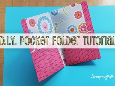 DIY Pocket Folder for Pocket Size Midori.Fauxdori Style Traveler's Notebook