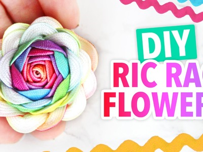 DIY Ric Rac Flowers ~ Cute & Easy! - HGTV Handmade