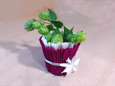 Easy DIY basket for sweets. Ideas for gifts and house decoration