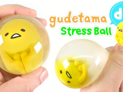 DIY How To Make Gudetama Stress Ball !! Easy Way~