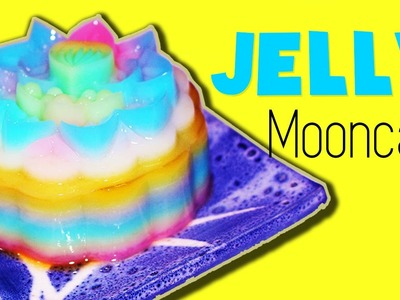 DIY Rainbow Jelly Cake| How to make Unicorn Mooncake (Collab with Soozooya)