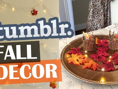 DIY Tumblr Fall Room Decor: Affordable & Cozy!