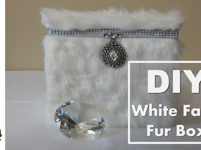 "DIY | White Faux Fur Box ""Viewer Requested"""