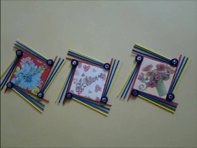 Craft Work: Waste Paper and Foam Board Wall Hanging Art