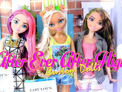 DIY - Custom Doll: After Ever After High PLUS Doll Fashion Show - Handmade - Crafts - 4K