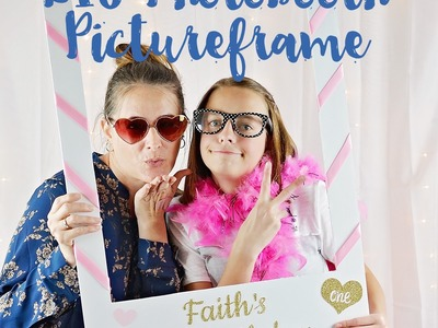 How to Make a Photo Booth Picture Frame
