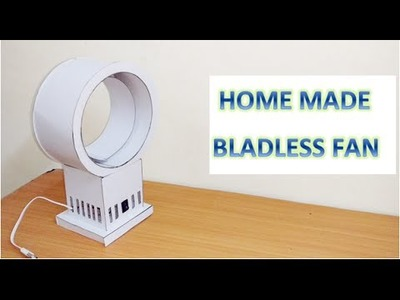 How to make Home made usb bladeless fan DIY