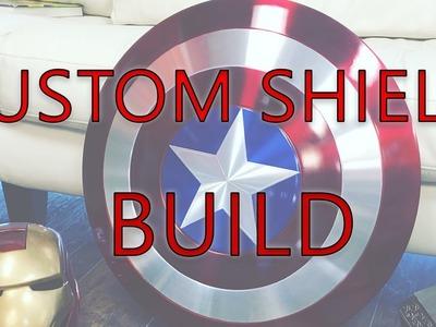 Captain America Custom Shield DIY