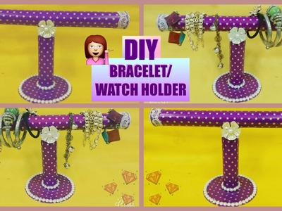 DIY Bracelet. Watch Holder | Best Out Of Waste | Crafty Zilla|