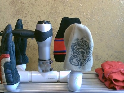 DIY Dryer! - Multi-use mini dryer! - (for shoes,boots,hats,gloves) - dries 'em quickly