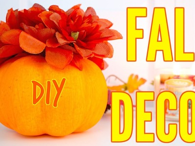 DIY Fall Room Decor 2016 Tumblr Inspired + Giveaway