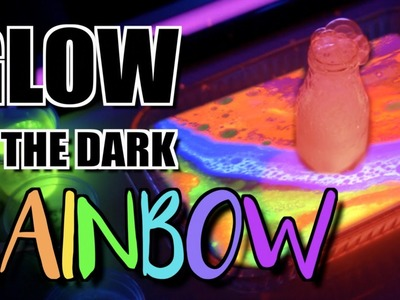 DIY Glow In The Dark RAINBOW Volcano! DI-WHY?