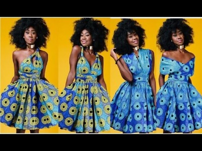 DIY I Ankara Infinity Wrap Dress I Special Announcement I Easy Sewing