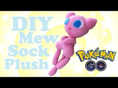 ❤ DIY Mew Sock Plush! How to make your own adorable Pokemon plushie! ❤