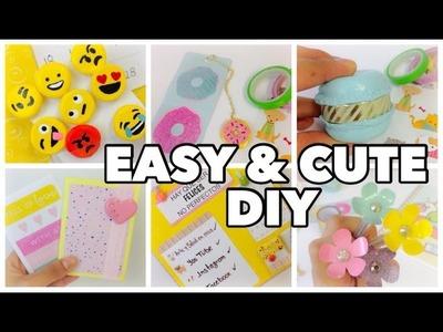 DIY School supplies!6 Easy DIY crafts for back to school