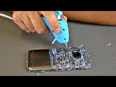 Hot Glue Phone Case - DIY TEST