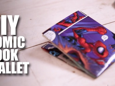 Mad Stuff With Rob - DIY Comic Book Wallet | Superhero Special