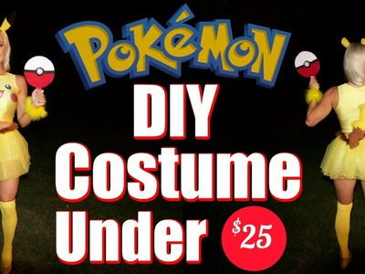 Pikachu Women's DIY Costume for Under $25