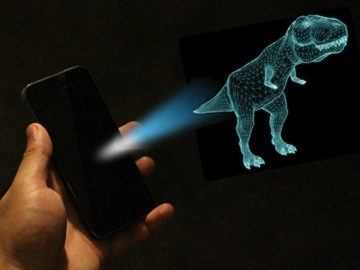 Turn your Phone into a Projector for Free!(DIY)
