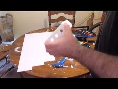 $6 Easy DIY Rick and Morty portal Gun!