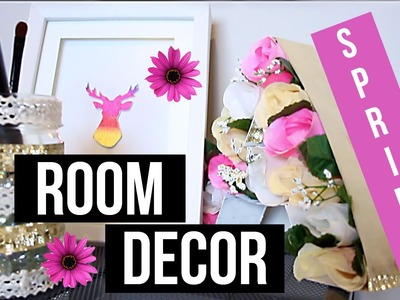 DIY Spring Room Decor For Cheap & Easy!