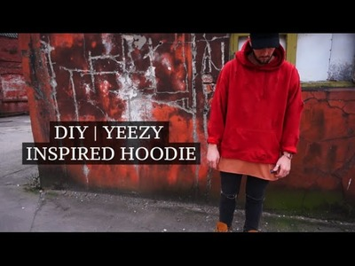 DIY | Yeezy Inspired Thrifted Hoodie | Josh Barnett
