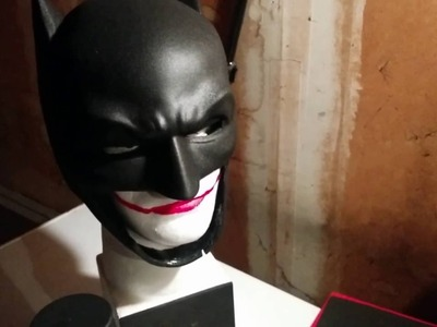 Batman cowl - mask diy build part 1