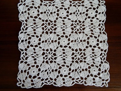 CROCHET Motif HOW TO JOIN MOTIFS CROCHET TUTORIAL Part 2
