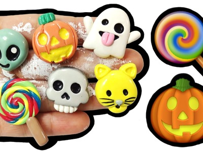 DIY EMOJI HALLOWEEN! Polymer Clay Tutorial