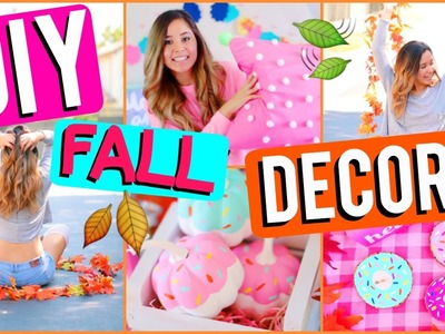 DIY FALL Room Decor 2016 | Colorful & Fun!
