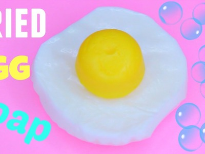 DIY Fried Egg SOAP! How to Make SOAP!