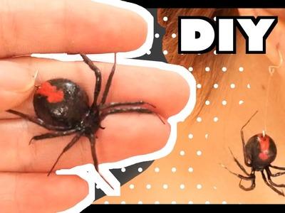 DIY Halloween | Realistic Spider Polymer Clay Tutorial