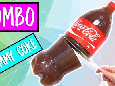 DIY JUMBO SIZED GIANT GUMMY COKE BOTTLE