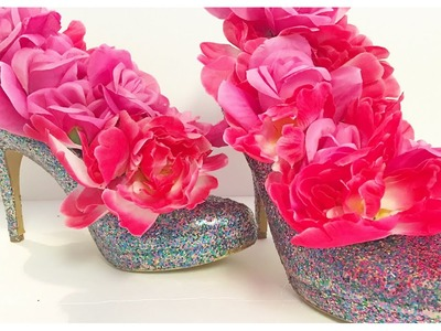 DIY Kate Spade Inspired Heels | Party Decor or Centerpiece