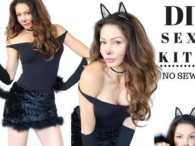 DIY Kitty Costume-NO SEWING!!!