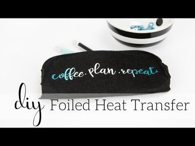 DIY Minc Foiled Heat Transfer