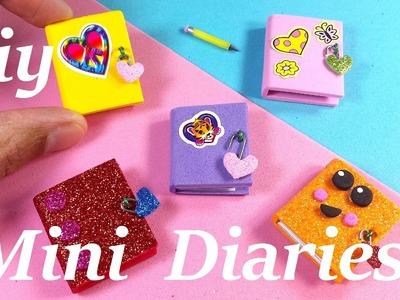 DIY Miniature Diaries. Journals - Easy & Cute!