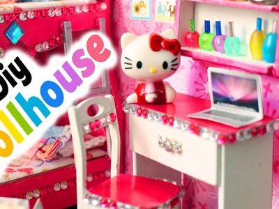 DIY | Miniature Dollhouse Princess Room - FULL VIDEO  - simplekidscrafts